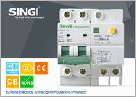 Best SG65LE-63 10A  2P Singi Residual - current mini electrical circuit breaker 1P  2P 3P 4P