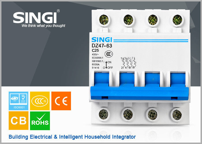 MCB / Automatic Miniature Circuit Breakers for low voltage circuit ...
