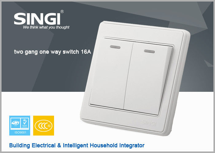 2 gang Universal Electrical Wall Electric Switch And Socket Brand