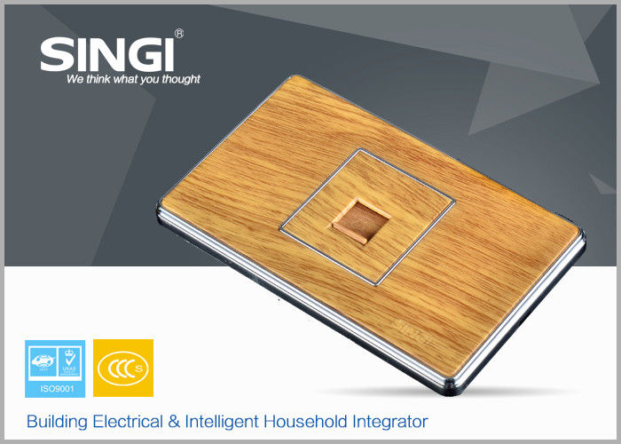 Singi Wood Wall Switch Socket Anti fire electric switches and