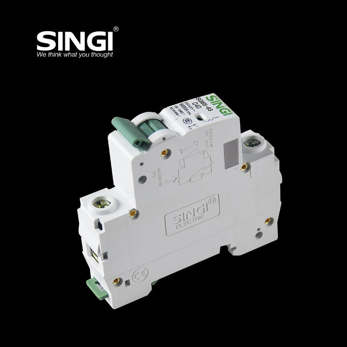 2016 China manufacure wholesale 1 pole 10A AC miniature circuit breaker new type 3200a air circuit breaker